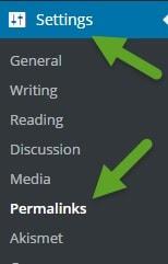 How To Build A WordPress Website Permalinks