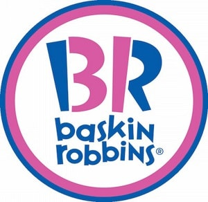 Logo Example Baskin Robbins
