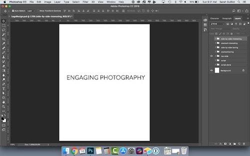 How To Design A Logo Sans Serif All Caps Font