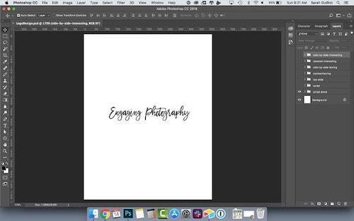 How To Design A Logo Script Font