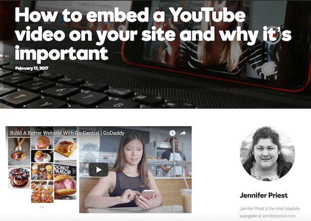 How To Embed A YouTube Video In WordPress Preview
