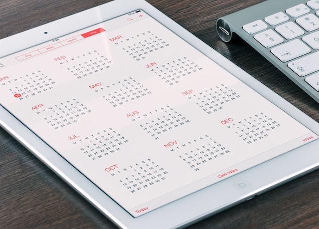 How to File Taxes Digital Calendar