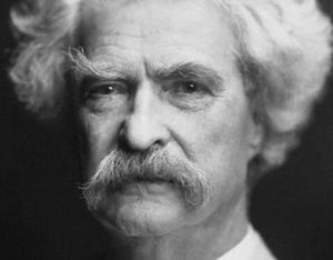 How to File Taxes Mark Twain Headshot Next to Quote