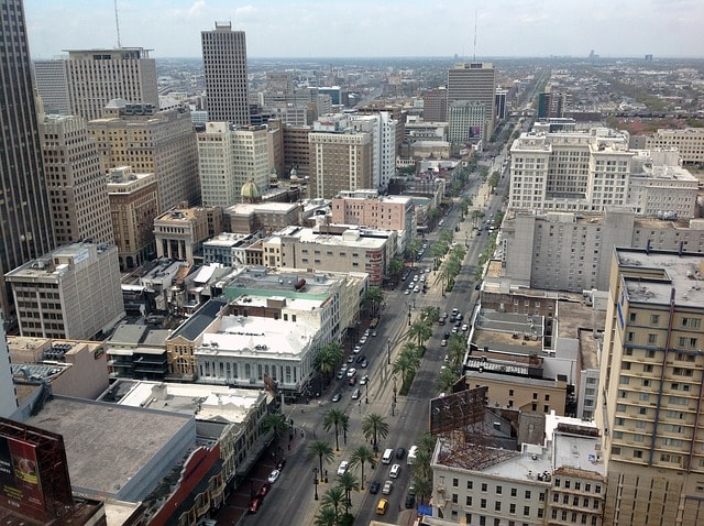 How to File Taxes New Orleans Streetscape