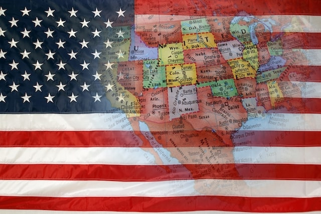 How to File Taxes US Flag with States