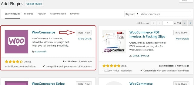 How To Install WooCommerce Install Now