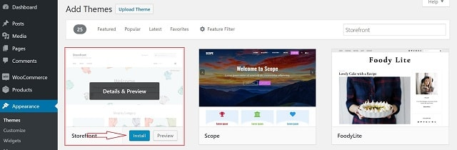 How To Install WooCommerce Theme