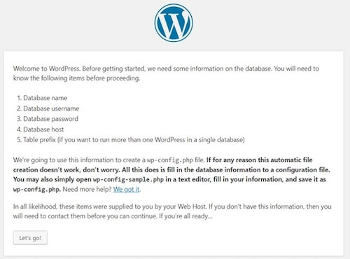 How To Install WordPress On cPanel Information
