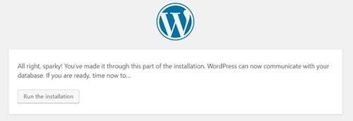 How To Install WordPress On cPanel Run