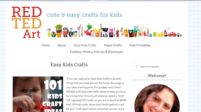 How to Make a Blog for Kids Red Ted Art