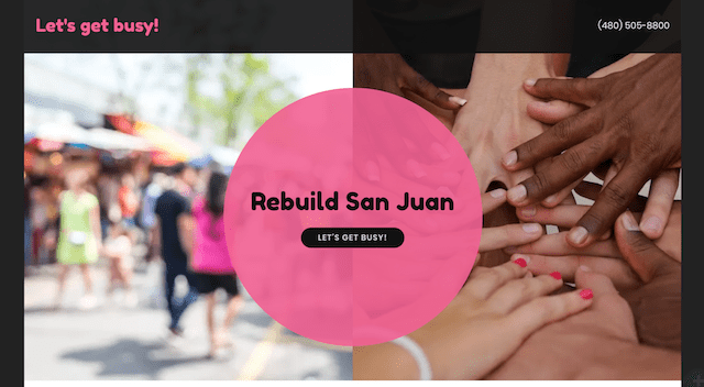 How to Make a Difference Rebuild San Juan