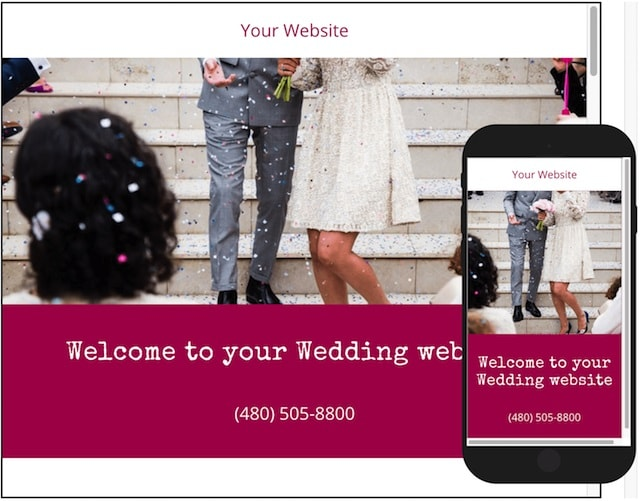 How To Make A Wedding Website Example