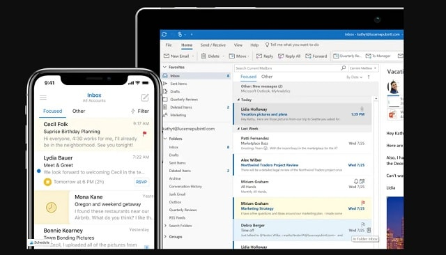 How To Organize Emails In Outlook Example
