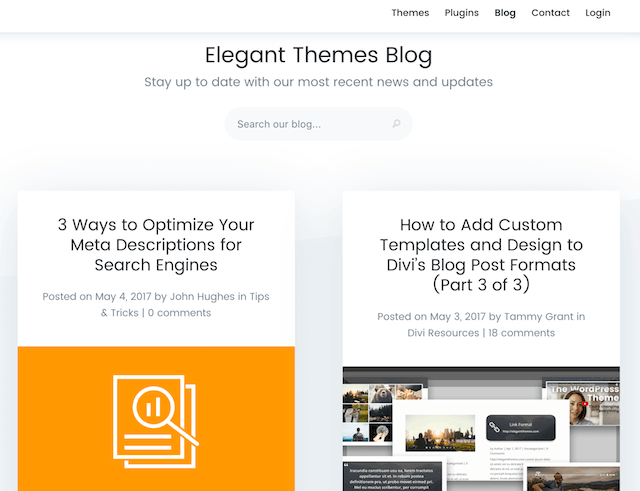 How To Run A Blog Elegant Themes