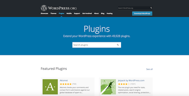 How To Start A Blog WordPress Plugin Directory
