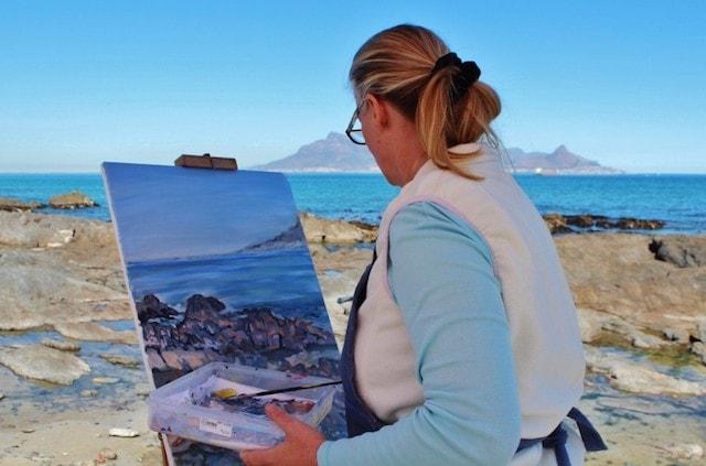How to Start an Art Blog Painter