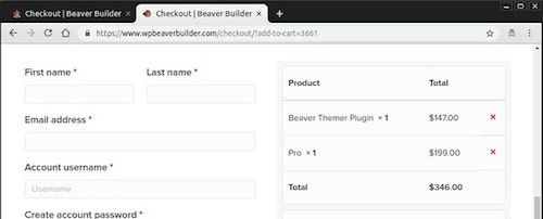 How To Use Beaver Builder Pro Version Checkout