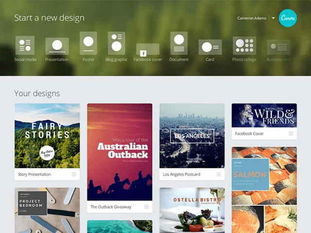 How to Use Canva Branded Images