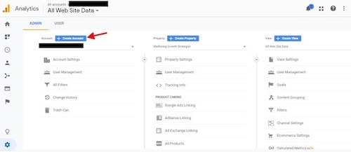 How To Use Google Analytics Create Account