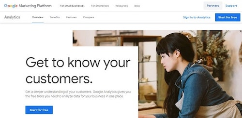 How To Use Google Analytics Start For Free