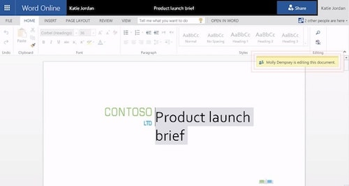 How To Use Microsoft Word Collaboration Example Online