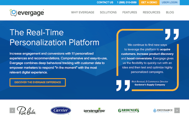 How To Use Personalization Evergage