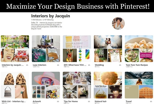 How To Use Pinterest Interiors by Jacquin