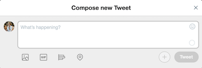 How To Use Twitter Compose New Tweet
