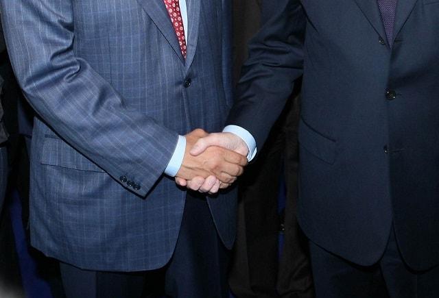 hvac website Handshake