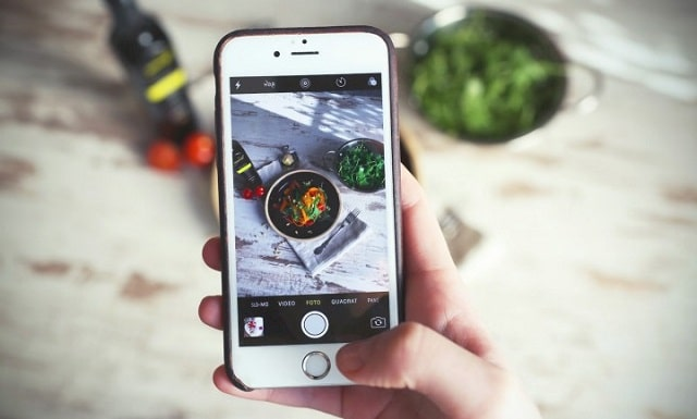 Instagram Food Photos Zooming In On Mobile