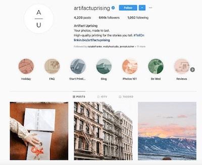 Instagram Marketing Strategy Artifactuprising