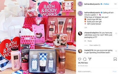 Instagram Marketing Strategy Bath And Body Works
