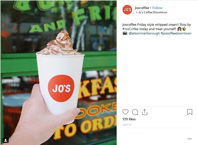 Instagram Strategy Joscoffee