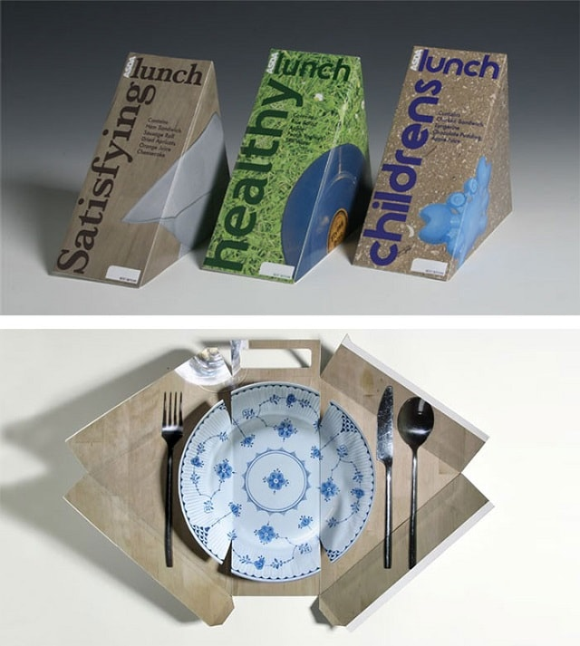 interactive packaging Food Delivery