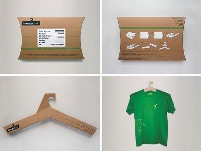 interactive packaging Hanger