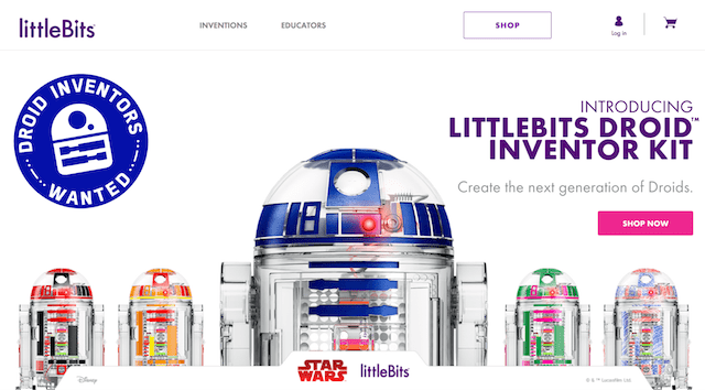 Internet of Things WordPress littleBits