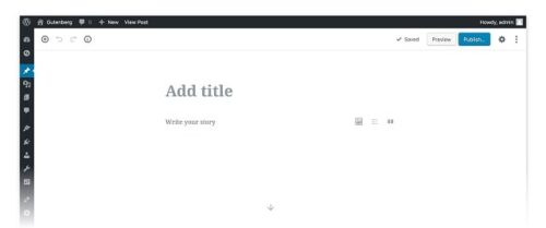 Demonstration Of The WordPress Block Editor