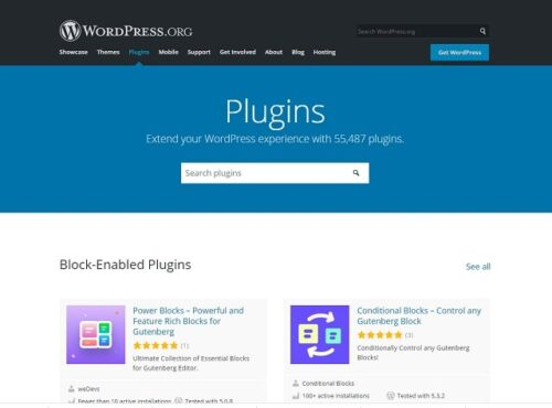 List Of WordPress Plugins