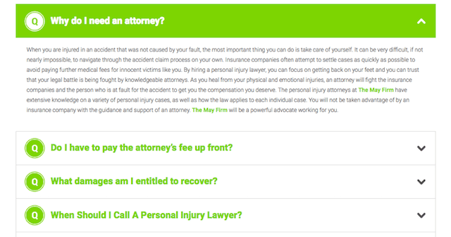 Law Firm Web Design FAQ
