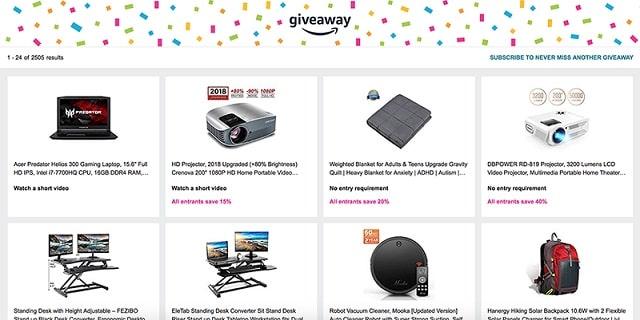 Lead Magnet Amazon Giveaway