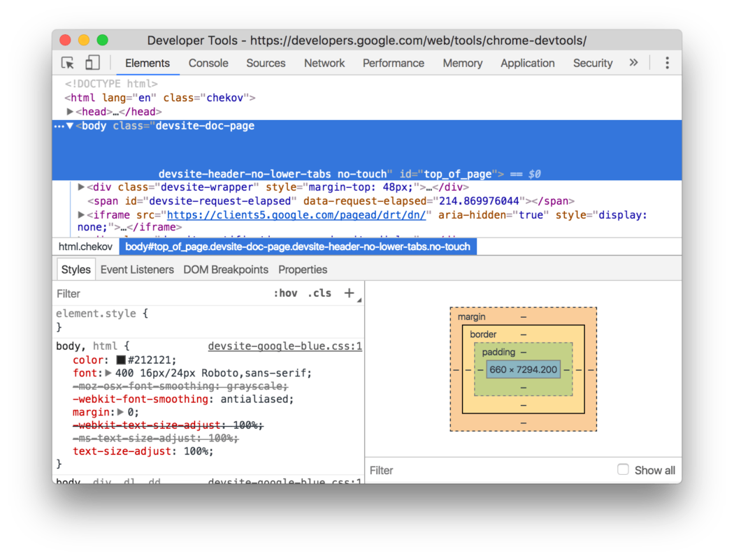 Use your browser's development tools to learn web design.