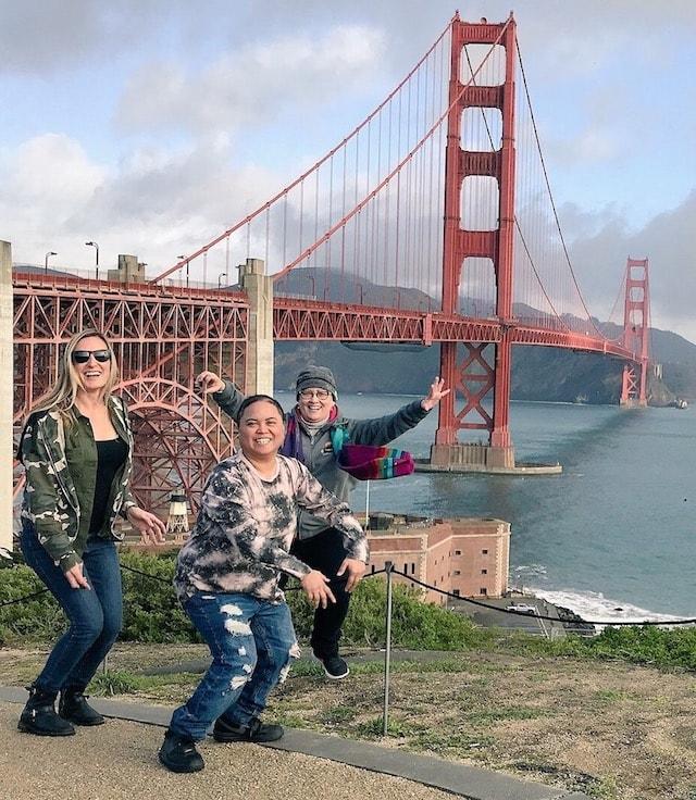 Lesbians Who Tech GoDaddy United Golden Gate Bridge