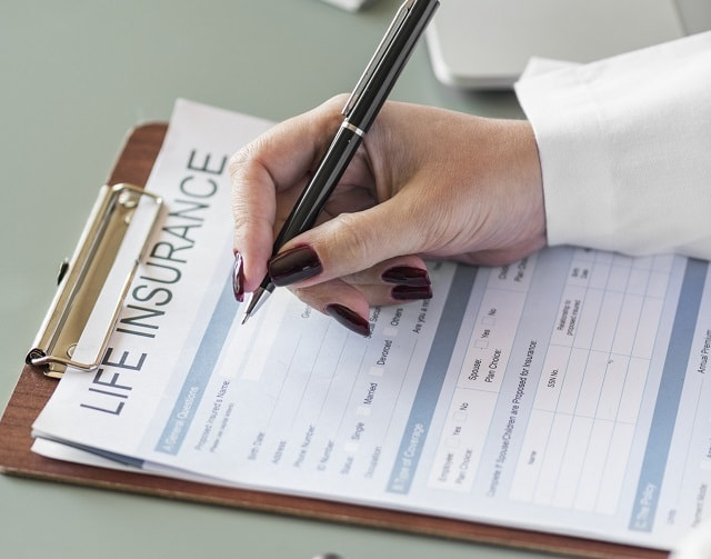 Life Insurance Website Paperwork