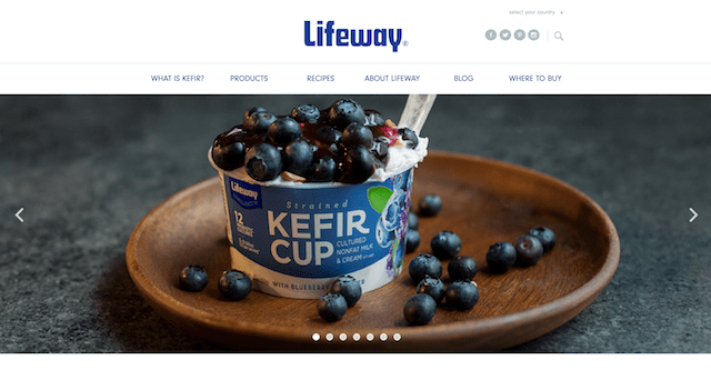 Lifeway Foods Website