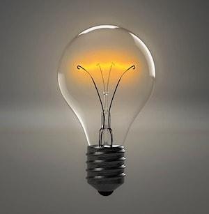 Lightbulb Represents Key Learnings