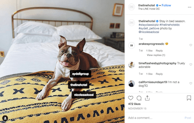 Line Hotel User Generated Content