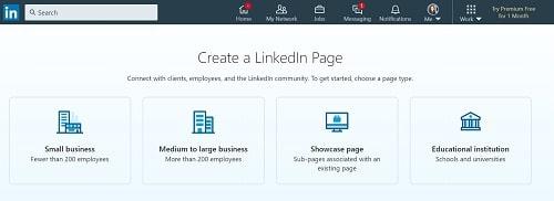 LinkedIn Business Company Page