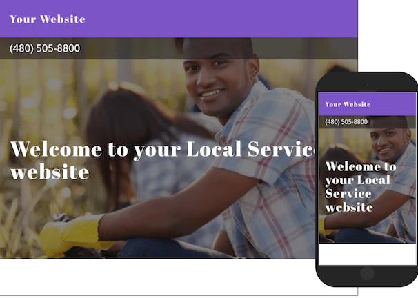 Local Customers Service Website