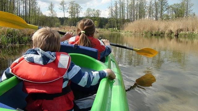 Local Summer Camp Kayak