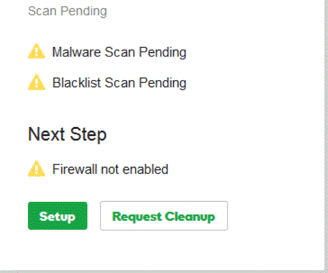 Malware Cleanup Request